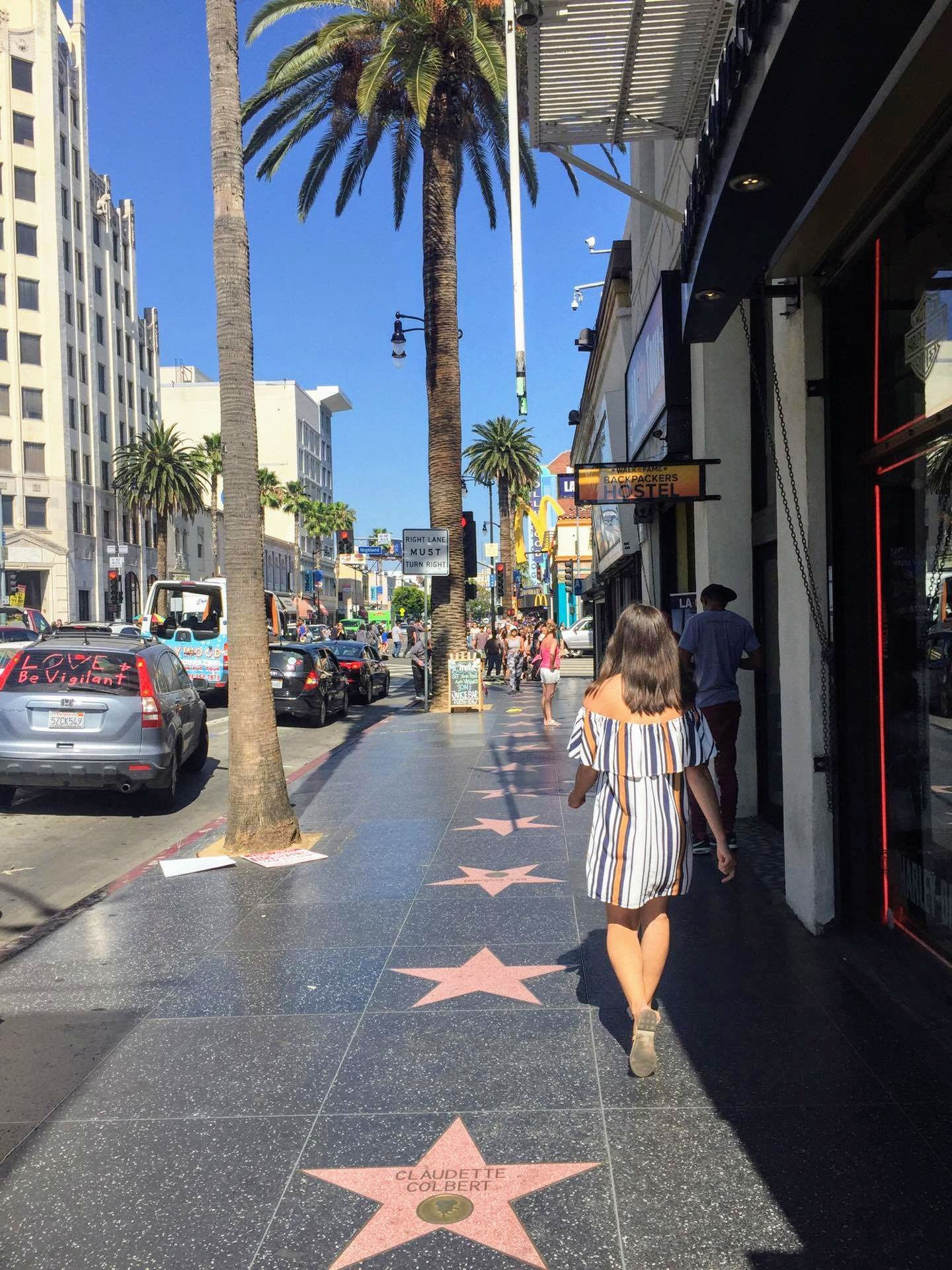 Visiting Hollywood