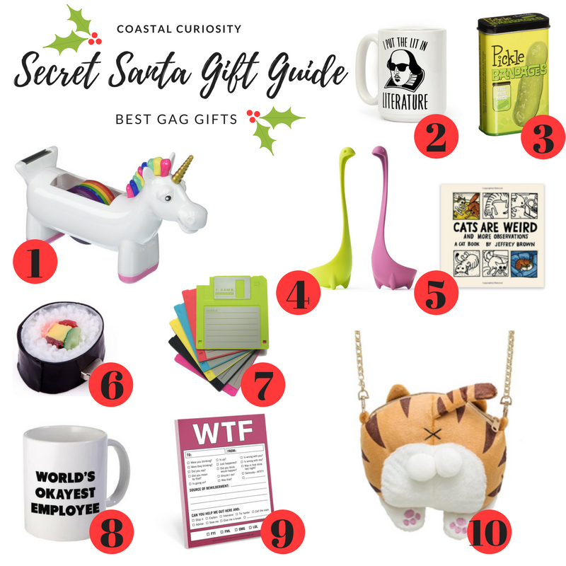 Secret Santa Gift Guide – Gag Gifts